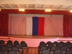 Актовый зал школы № 12 г. Арзамас