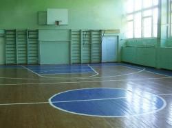 Спортивный зал в школе № 12