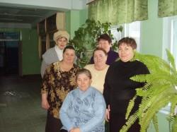 Технический персонал школы № 12 г. Арзамас